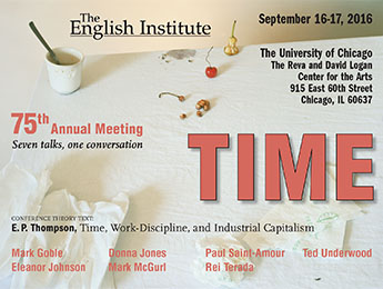 English Institute 75th Conference.